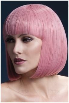 Šviesiai rožinis perukas