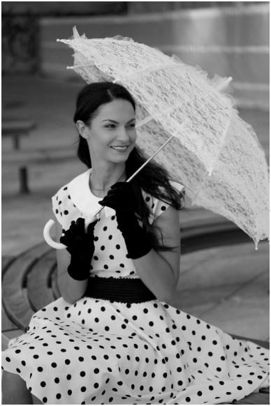50-ųjų stiliaus kostiumas 2