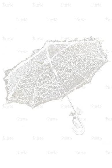 Baltas skėtis 4