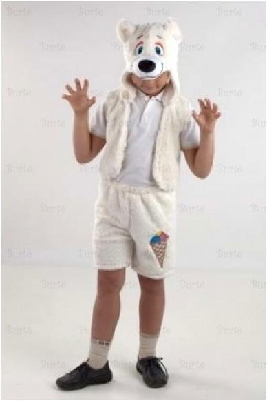 Baltojo lokio kostiumas 2