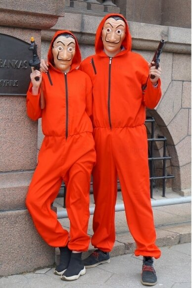 Banko plėšikų kostiumai 3