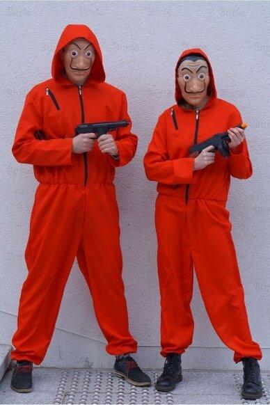 Banko plėšikų kostiumai 2