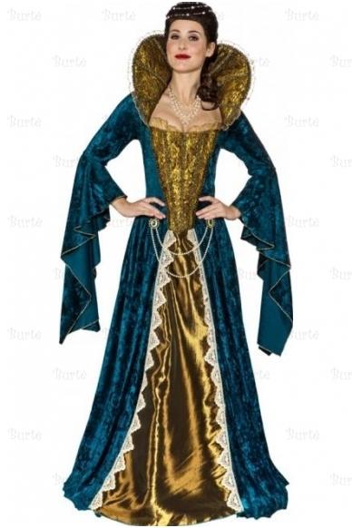 Karalienės suknelė 5