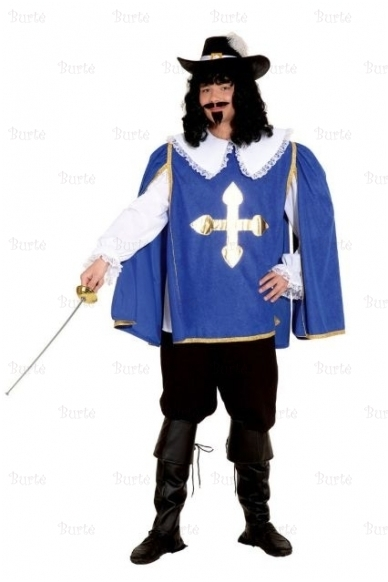 D'Artanjano (mušietininko) kostiumas