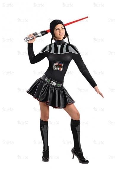 Darto Veiderio merginos kostiumas