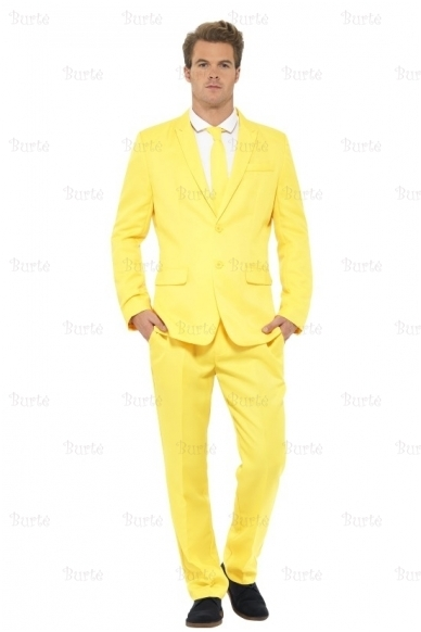 Geltonas kostiumas