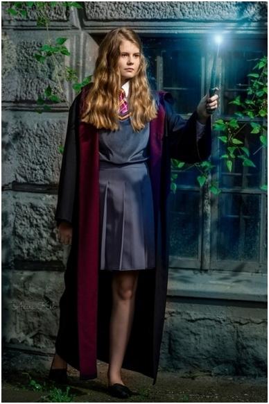 Hermionos kostiumas 2
