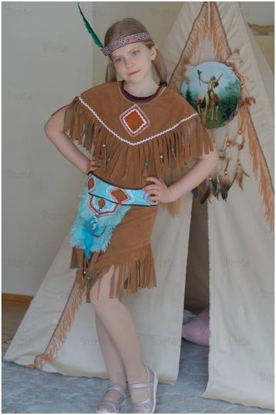 Indėnės kostiumas