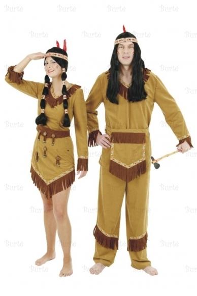Indėnų kostiumai