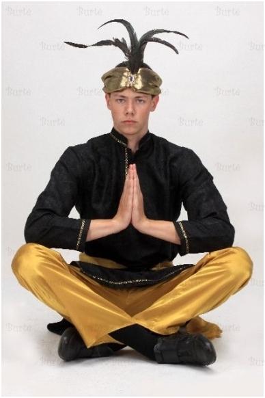 Indų princo kostiumas