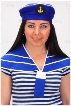 Jūreivių apykaklė ir kepurė