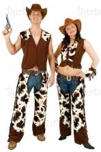 Kaubojų kostiumai