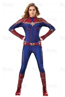 Kapitonės Marvel kostiumas
