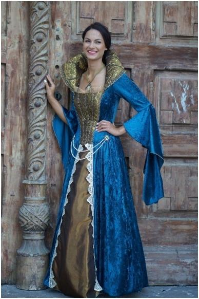 Karalienės suknelė