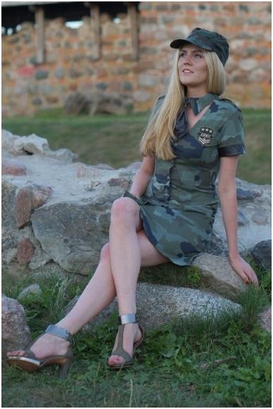 Kareivės kostiumas 4