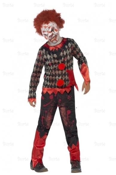 Klouno-zombio kostiumas