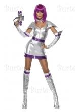 Kosmoso mergaitės kostiumas