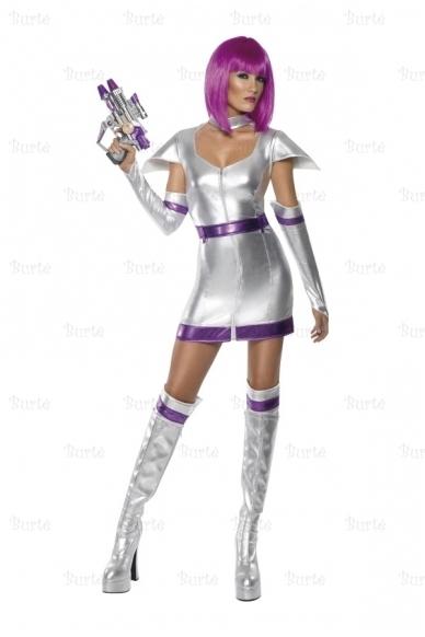Kosmoso mergaitės kostiumas 2