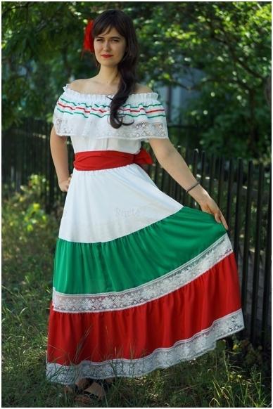 Meksikietės kostiumas 3