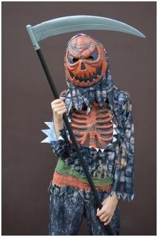 Moliūgo-zombio kostiumas