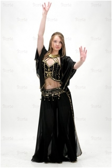 Pilvo šokėjos kostiumas