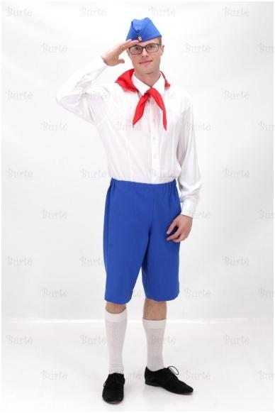 Pionieriaus kostiumas
