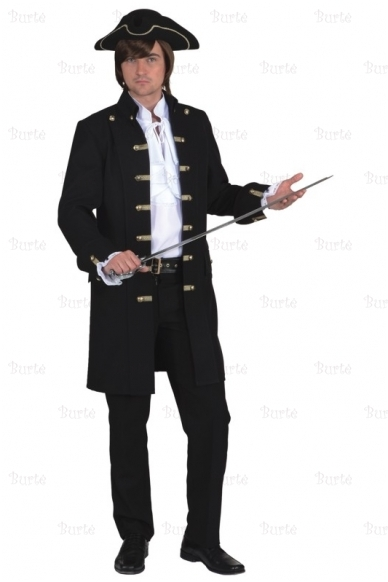 Pirato-karininko kostiumas