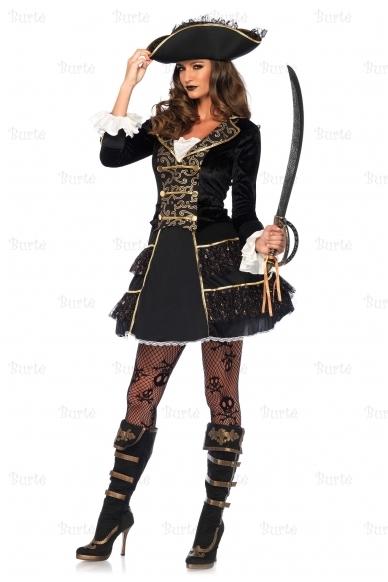 Piratų kapitonės kostiumas