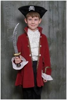 Piratų kapitono kostiumas