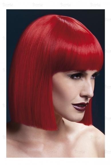 Raudonas kare perukas
