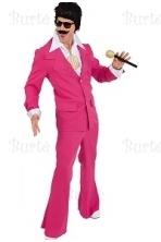Rožinis disko kostiumas