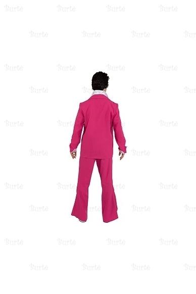 Rožinis disko kostiumas 2