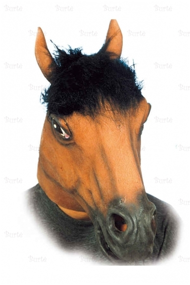 Rudo arklio kaukė