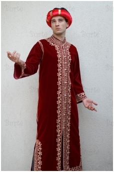 Rytų karaliaus kostiumas