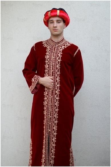 Rytų karaliaus kostiumas 2
