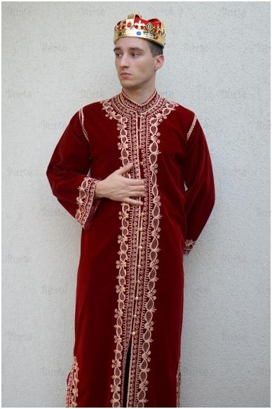 Rytų karaliaus kostiumas 3