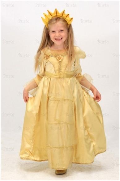 Saulytes-princeses kostiumas