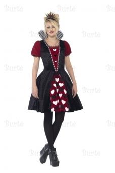 Širdžių karalienės suknelė
