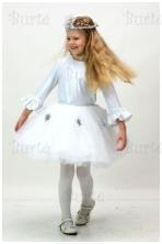 Snieguolės - snaigės kostiumas