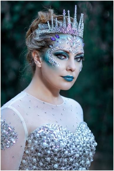 Sniego karalienės kostiumas 4
