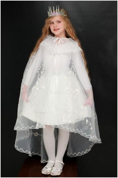 Sniego karalienės kostiumas