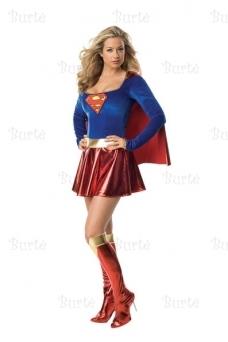 Super mergaitės kostiumas
