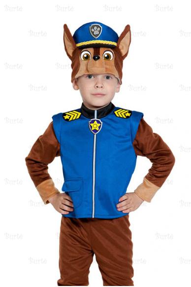 Šuniuko policininko kostiumas
