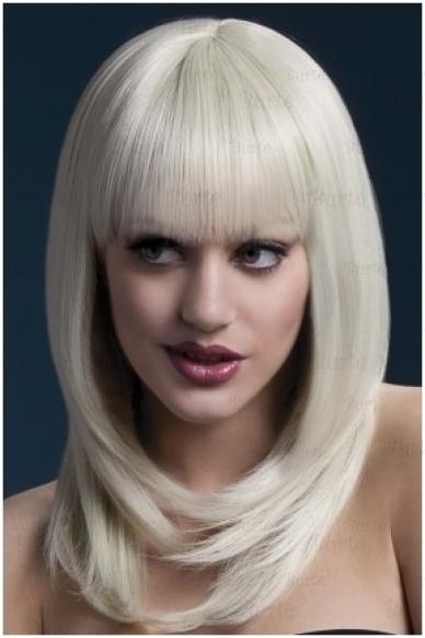 Šviesių plaukų perukas Tanja