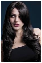 tamsiai rudų plaukų perukas Nicole