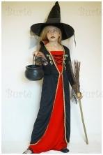 Vampyrės-raganaitės kostiumas