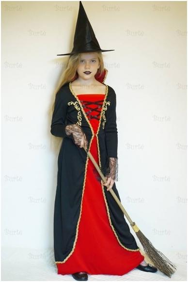 Vampyrės-raganaitės kostiumas 3