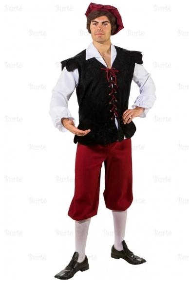 Viduramžių miestelėno kostiumas