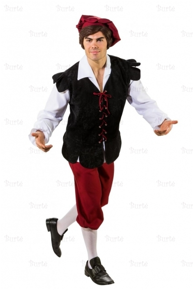 Viduramžių miestelėno kostiumas 3