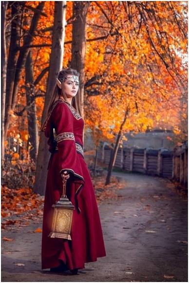 Viduramžių suknelė 2